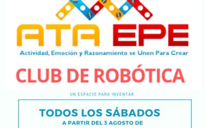 Club de Robótica ATA EPE, lo que estabas esperando